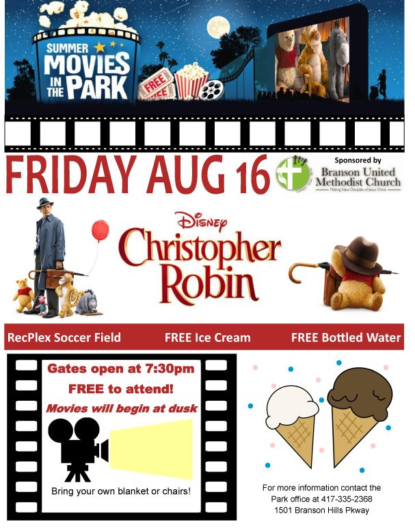 Movie in the Park 2019 Christopher Robin