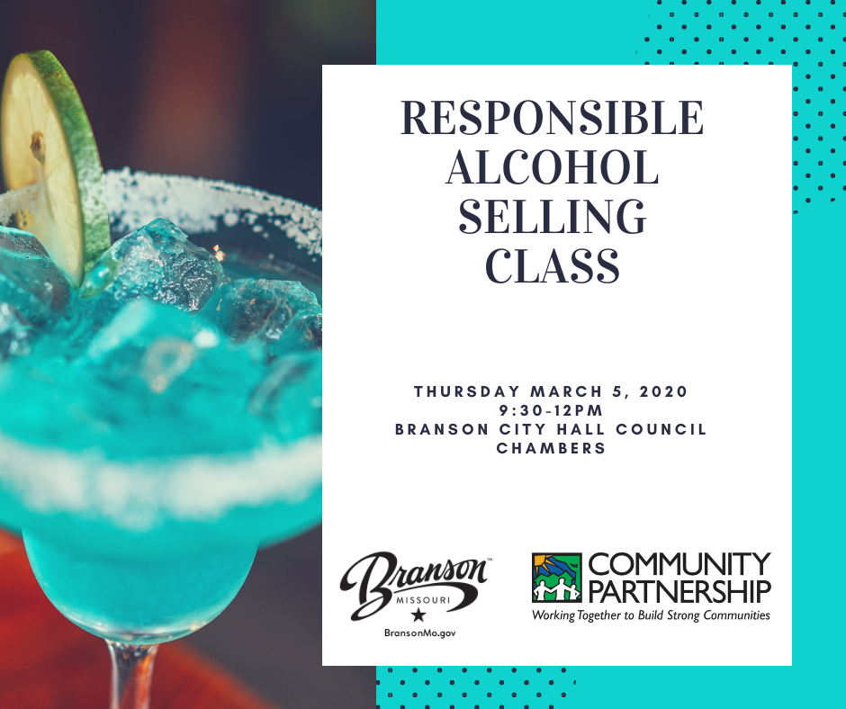 Responsible alcohol selling class March 2020