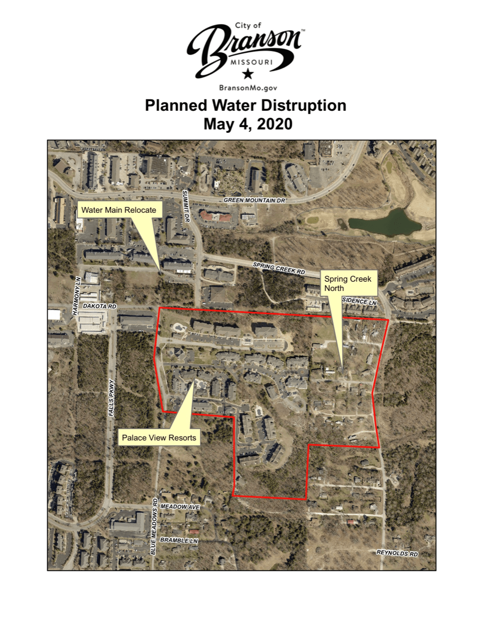 Re  Water Service Interruption - May 4th 800 am to Noon