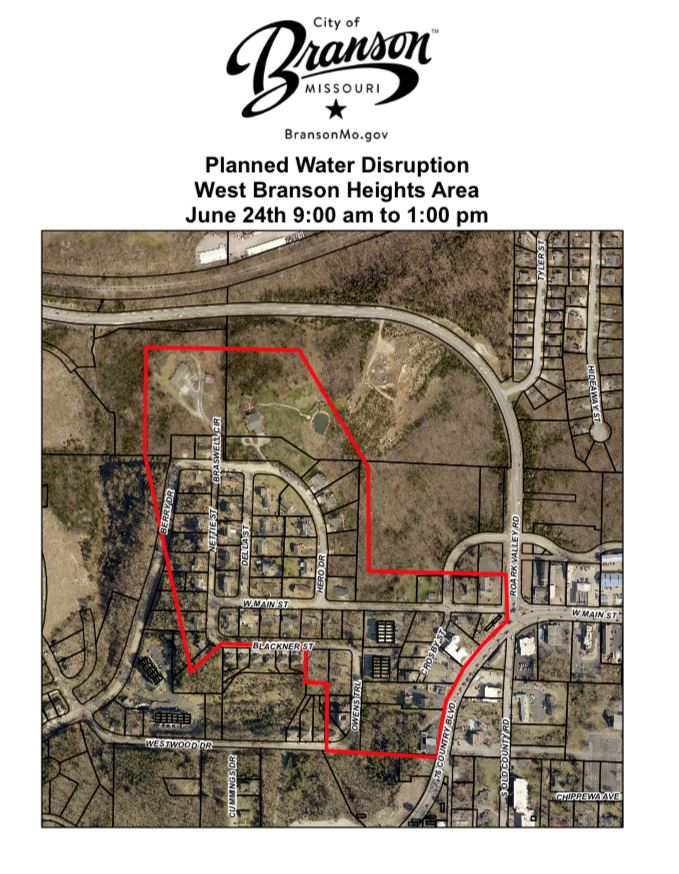 Water disruption 6.24.20